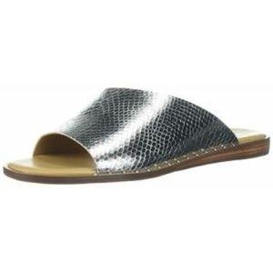 Hi-Ho Silver Slide Sandal Shoe